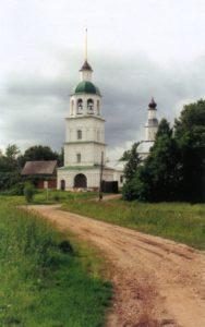 КОЛОЦКИЙ МОНАСТЫРЬ. КОЛОКОЛЬНЯ. XVIII в.