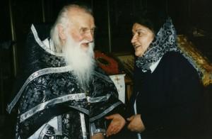 Прот. Василий Швец и матушка Маргарита. Ям 1998