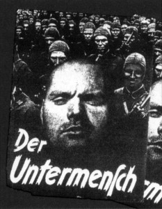 """БРОШЮРА СС """"НЕДОЧЕЛОВЕК"""", ИЗДАННАЯ МИЛЛИОННЫМИ ТИРАЖАМИ В 1942 г."""