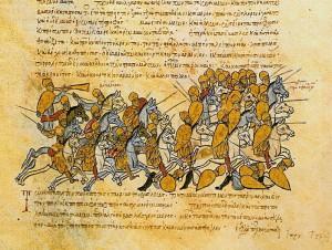 Армия Симеона побеждает византийцев, во главе с Кринитокиос