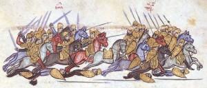 ПОБЕДА ВОЙСК ЦАРЯ СИМЕОНА В БИТВЕ У АНХИАЛО (917 г.)