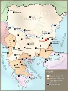 РАСШИРЕНИЕ ТЕРРИТОРИИИ БОЛГАРИИ В ПЕРИОД ПРАВЛЕНИЯ ЦАРЯ СИМЕОНА ВЕЛИКОГО (893-927)