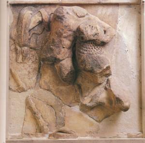 ГЕРАКЛ И НЕМЕЙСКИЙ ЛЕВ. 530-500 гг. до Р. Х. ДЕЛЬФЫ