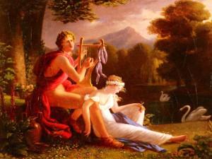 ОРФЕЙ И ЭВРИДИКА. ХУЮ ЛУИС ДУКИС (1775-1847)