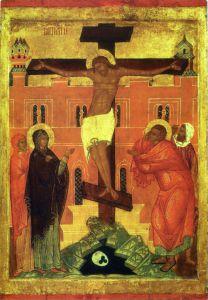 РАСПЯТИЕ. XVI в. КАРГОПОЛЬ