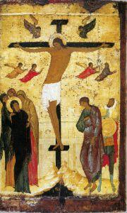 РАСПЯТИЕ. 1500 г. МАСТЕР ДИОНИСИЙ (1440-ПОСЛЕ 1503 гг.)
