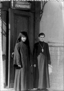 ЛЕНИНГРАД. ДУХОВНАЯ АКАДЕМИЯ. 1950 г.
