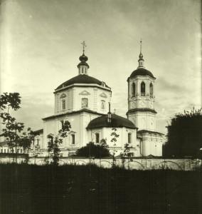 ТОРОПЕЦ. ЦЕРКОВЬ БЛАГОВЕЩЕНИЯ (1753 г.). ФОТО НАЧАЛА XX в.