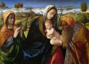 НЫНЕ ОТПУЩАЕШИ. ХУД. ДЖОВАННИ БЕЛЛИНИ (1430-1516 гг.) ИТАЛИЯ