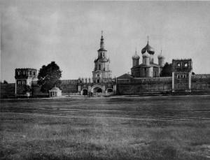 ДОНСКОЙ МОНАСТЫРЬ.ФОТО 1882 г.