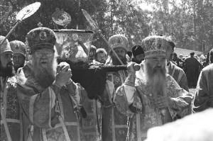 ПЕРЕНЕСЕНИЕМОЩЕЙПРП.СЕРАФИМАСАРОВСКОГО,1991ГОД.