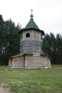 СИНОЗЕРСКАЯ ПУСТЫНЬ. КОЛОКОЛЬНЯ. 24 ИЮЛЯ 2012 г.