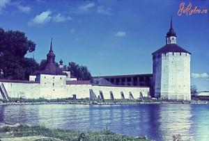 КИРИЛЛО-БЕЛОЗЕРСКИЙ МОНАСТЫРЬ. ФОТО 1968 г.