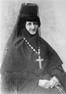 МОНАХИНЯ ВВЕДЕНСКОГО МОНАСТЫРЯ. 1910-е гг.