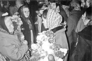 ПРОЩАНИЕ С МАРИЕЙ СЕРГЕЕВНОЙ В ПОЯРКОВСКОМ ХРАМЕ. 30.03.2002 г.