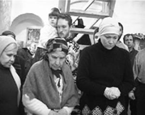 М. С. ТРОФИМОВА В ХРАМЕ