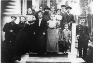ХОР ХРАМА СВЯТОЙ ТРОИЦЫ В СХОДНЕ. 1910-е гг.