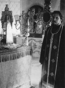 ИЕРОМОНАХ ПРОКЛ - СВЯЩЕННИК СМОЛЕНСКОЙ ЦЕРКВИ В ЛЕНИНГРАДЕ. 1975 г.
