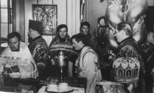 РУКОПОЛОЖЕНИЕ ИЕРОДИАКОНА ПРОКЛА (ХАЗОВА) ВО ИЕРОМОНАХА. 11 МАРТА 1973 г.