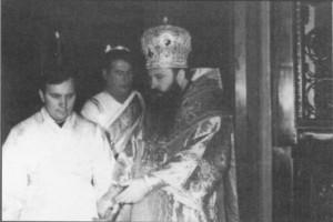 РУКОПОЛОЖЕНИЕ НИКОЛАЯ ХАЗОВА ВО ИЕРОДИАКОНА. 7 ЯНВАРЯ 1973 г.