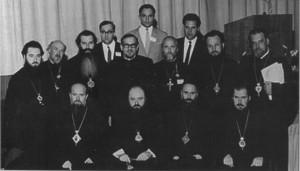 ПРЕПОДАВАТЕЛИ ЛЕНИНГРАДСКИХ ДУХОВНЫХ ШКОЛ И ИЕРАРХИ РПЦ. 1974 г.