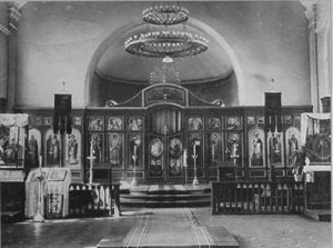 ХРАМ ЛЕНИНГРАДСКИХ ДУХОВНЫХ ШКОЛ. 1957 г.