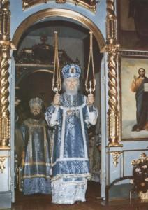 СОСЛУЖЕНИЕ С ВЛАДЫКОЙ ИОАННОМ САНКТ-ПЕТЕРБУРГСКИМ И ЛАДОЖСКИМ. 1988 г.