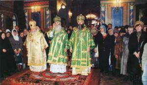 БОЖЕСТВЕННАЯ ЛИТУРГИЯ В ДЕНЬ ПАМЯТИ БЛАЖЕННОЙ КСЕНИИ ПЕТЕРБУРГСКОЙ