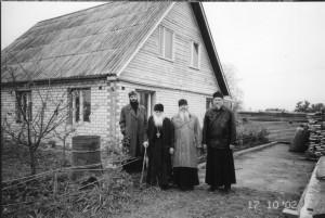 ПЕЧОРЫ ПСКОВСКИЕ. ДОМ ОТЦА ВАСИЛИЯ. 2003 г.