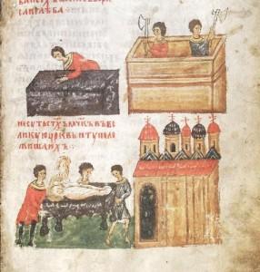 СТРОИТЕЛЬСТВО БОРИСОГЛЕБСКОГО ХРАМА В ВЫШГОРОДЕ И ПЕРЕНЕСЕНИЕ В 1115 г. МОЩЕЙ БРАТЬЕВ В НОВЫЙ ХРАМ