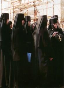 МОЛЕБЕН ПРП. ВАРЛААМУ СЕРПУХОВСКОМУ ВО ВЛАДЫЧНЕМ МОНАСТЫРЕ. 2003 г.