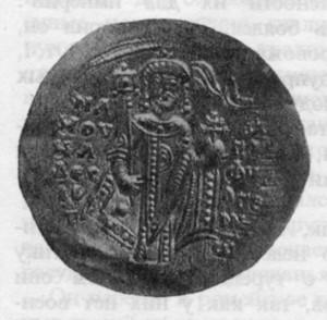 ИМПЕРАТОР МАНУИЛ I КОМНИН. (1143-1180 гг.) ЗОЛОТАЯ МОНЕТА