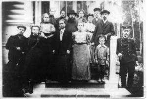 ПЕРВЫЙ ХОР ТРОИЦКОГО ХРАМА В СХОДНЕ. ФОТО 1900-х гг.