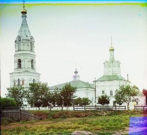 РЯЗАНЬ. СОБОР БОРИСА И ГЛЕБА. ФОТО СЕРГЕЯ МИХАЙЛОВИЧА ПРОКУДИНА-ГОРСКОГО. 1912 г.