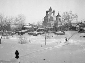 ТИХВИНСКАЯ ЦЕРКОВЬ В СЕЛЕ АЛЕКСЕЕВСКОМ. 1960-е гг.