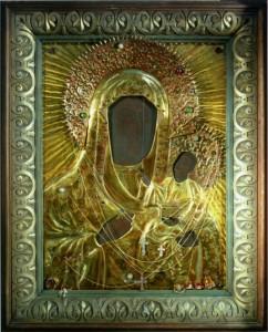 КРАСНОСТОКСКАЯ ИКОНА БОЖИЕЙ МАТЕРИ. XVI в. КРЕСТОВОЗДВИЖЕНСКИЙ СОБОР СПАСО-ЕВФРОСИНИЕВСКОГО МОНАСТЫРЯ
