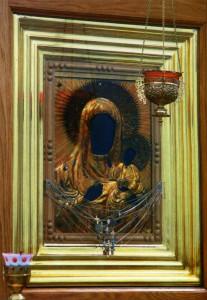 КРАСНОСТОКСКАЯ ИКОНА БОЖИЕЙ МАТЕРИ В КРЕСТОВОЗДВИЖЕНСКОМ СОБОРЕ СПАСО-ЕВФРОСИНИЕВСКОГО МОНАСТЫРЯ