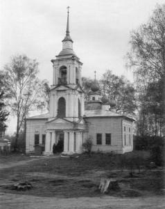 ПИСЕМСКИЙ МОНАСТЫРЬ. СПАСО-ПРЕБРАЖЕНСКИЙ ХРАМ (1821 г.)