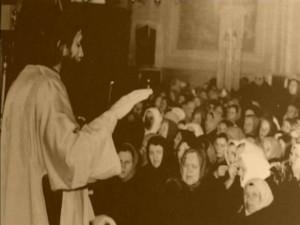 ИЕРОДИАКОН ИГНАТИЙ (В СХИМЕ - ИЛАРИОН) НА СЛУЖБЕ