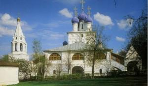 МОСКВА. ХРАМ В ЧЕСТЬ КАЗАНСКОЙ ИКОНЫ БОЖИЕЙ МАТЕРИ В КОЛОМЕНСКОМ. (1649-1650 гг.)
