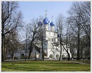 КОЛОМЕНСКОЕ. ХРАМ ВО ИМЯ КАЗАНСКОЙ ИКОНЫ БОЖИЕЙ МАТЕРИ