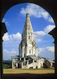 МОСКВА. ХРАМ В ЧЕСТЬ ВОЗНЕСЕНИЯ ГОСПОДНЯ В КОЛОМЕНСКОМ (1529-1532 гг.)