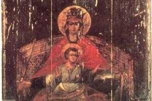 ДЕРЖАВНАЯ ИКОНА БОЖИЕЙ МАТЕРИ В КАЗАНСКОМ ХРАМЕ СЕЛА КОЛОМЕНСКОЕ