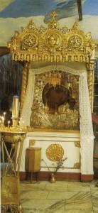 МОСКВА. ХРАМ В ЧЕСТЬ КАЗАНСКОЙ ИКОНЫ БОЖИЕЙ МАТЕРИ В КОЛОМЕНСКОМ. КАЗАНСКАЯ ИКОНА БОЖИЕЙ МАТЕРИ