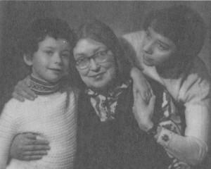 ВЕРА НИКОЛАЕВНА МАРКОВА. 1970-е гг.
