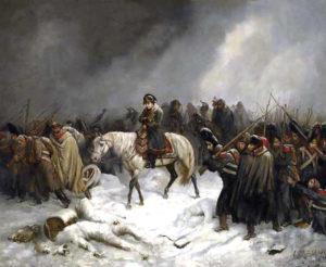 ОТСТУПЛЕНИЕ ФРАНЦУЗСКОЙ АРМИИ. 1812 г.
