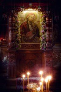 ИКОНА БОЖИЕЙ МАТЕРИ УТОЛИ МОЯ ПЕЧАЛИ ИЗ ХРАМА СВТ. НИКОЛАЯ В КУЗНЕЦАХ