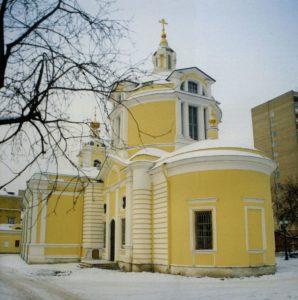 ХРАМ ВО ИМЯ СВТ. НИКОЛАЯ В КУЗНЕЦАХ. (1805 г.)