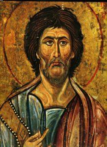 БОГОВИДЕЦ И ПРОРОК МОИСЕЙ. ИКОНА XII в. СИНАЙ