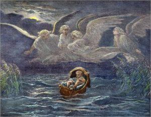 МЛАДЕНЕЦ МОИСЕЙ НА РЕКЕ НИЛ. ХУД. ЛЬЮИС ХЕРСЕНТ (1777–1860)